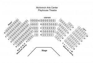 MAC Playhouse Seating Chart